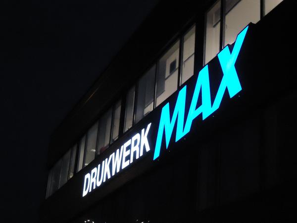 Verlichte Gevelletters DrukwerkMax