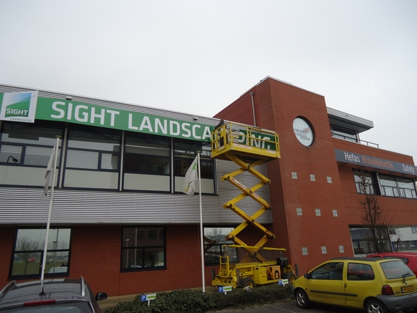 Gevelreclame Sight landscaping